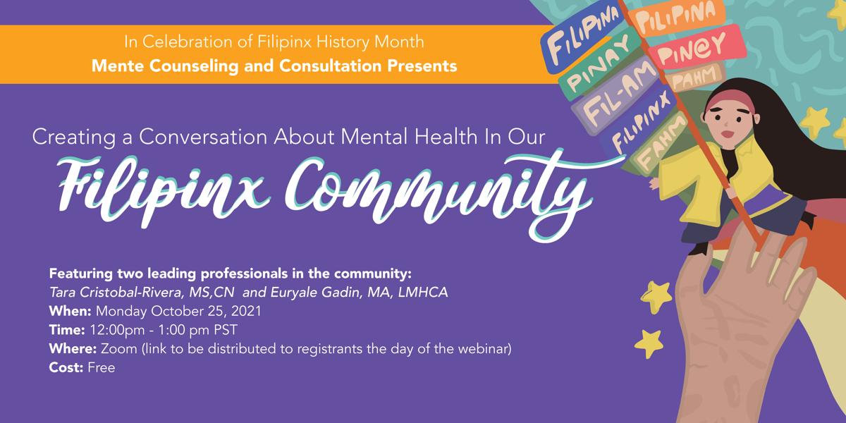 Filipinx Community Mental Health Webinar